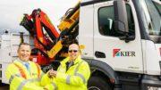 Palfinger voor Brits wegenwacht-onderhoudsbedrijf Kier Highways