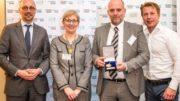 Riwal nationale winnaar tijdens de European Business Awards