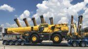 Grove laat GRT8100 kraan bouwen buiten VS