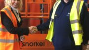 Linda Betts van Snorkel (L) en Phil Jam van Banner Plant