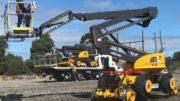Eerste Manitou/Neotec weg- en railhoogwerker voor Australië
